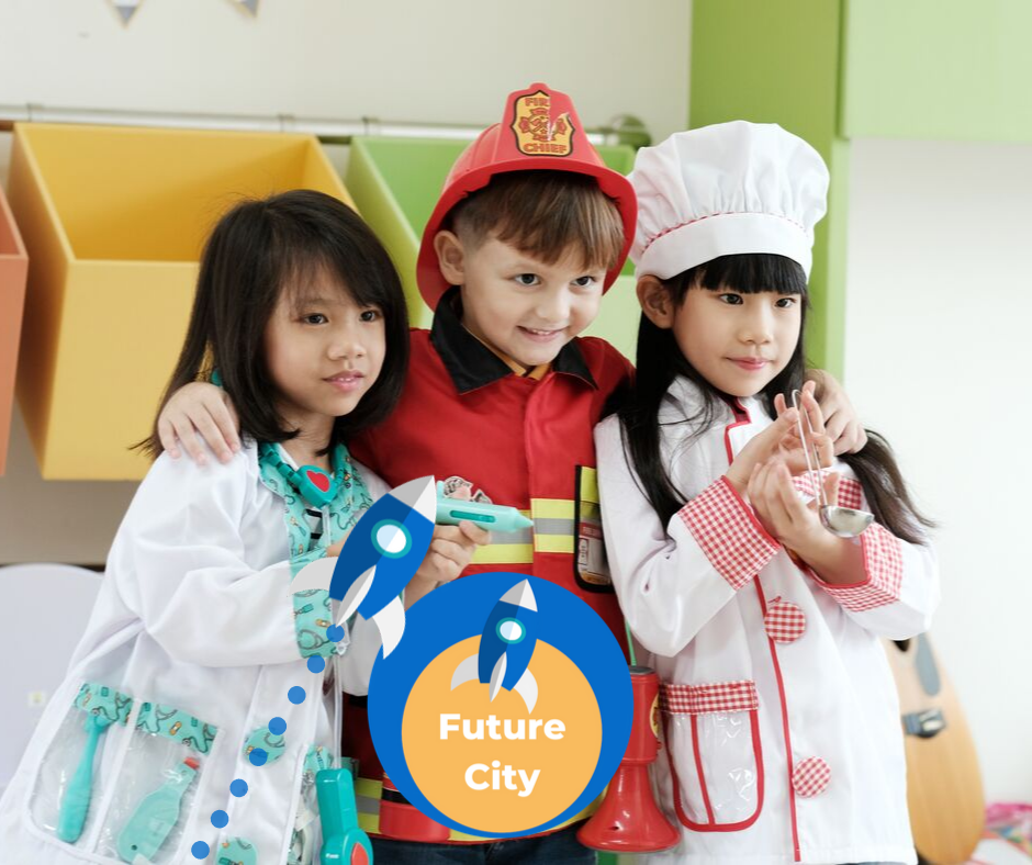 FutureCity teaches students about the working of an economy andhelps them understand the circular flow of money