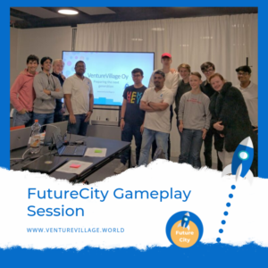 Participants of the FutureCity gameplay session