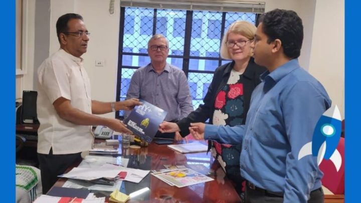 Representatives of VentureVillage and HY+ meet Director of General Education in Kerala