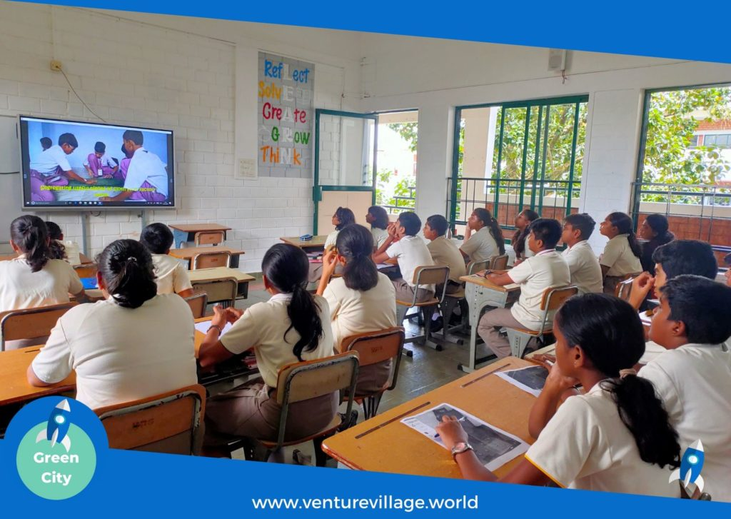 Students of Grade 6 and 7 attend GreenCity by VentureVillage, FInland Education