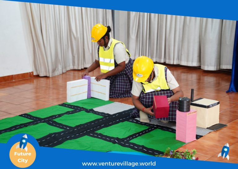 Student of Grade 6 and 7 attend FutureCity by VentureVillage