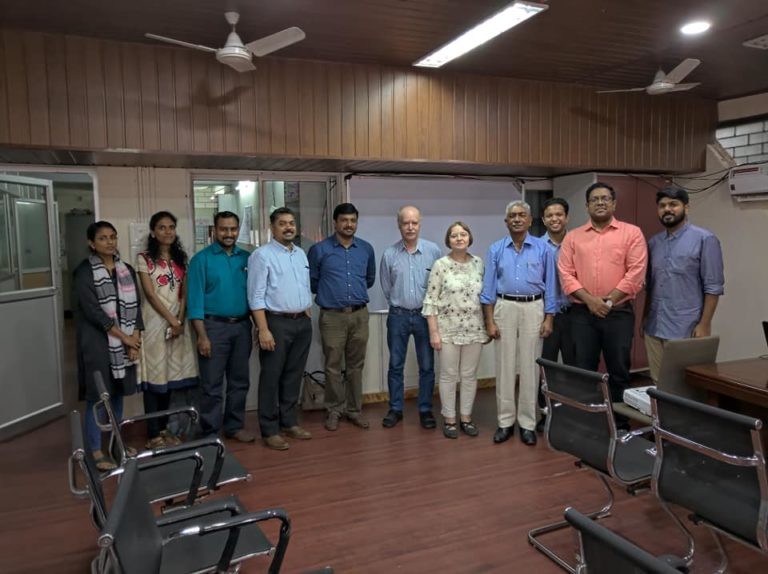 VentureVillage team partners with CKCL in Kerala